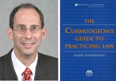 "Mark Herrmann and ""The Curmudgeon's Guide to Practicing Law"""
