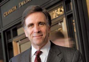 Evan Chesler, Chairman of Cravath Swaine & Moore
