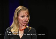 Anja Manuel, co-Founder of Rice Hadley Gates LLC