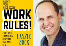 "Laszlo Bock, Founder & CEO of Humu, Author of ""Work Rules!"""